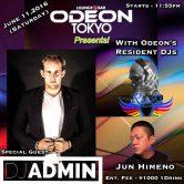 DJ ADMIN @ ODEON ROPPONGI TOKYO