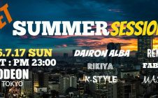 Summer dance music Odeon Roppongi