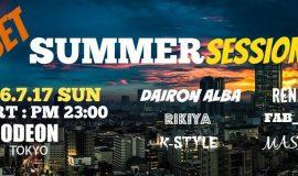 Summer dance music Odeon Roppongi