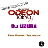 Saturday night Jammer Odeon Roppongi