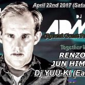 DJ ADMIN APRIL 22ND Roppongi Odeon