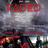 FADED after hours Roppongi Tokyo