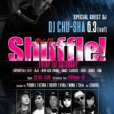 Shuffle  DJ CHU-SHA Roppongi Odeon nightclub