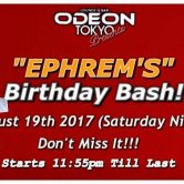 Ephrems Birthday Bash