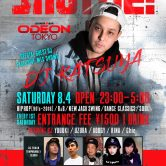 Odeon SHUFFLE  Vol 26 Roppongi ( Aug 4th )