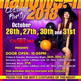 Halloween 4 nights of Mayhem Roppongi