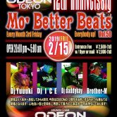 12th Anniversary Mo Better Beats Odeon Roppongi