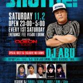 shuffle SATURDAY DJ ABU