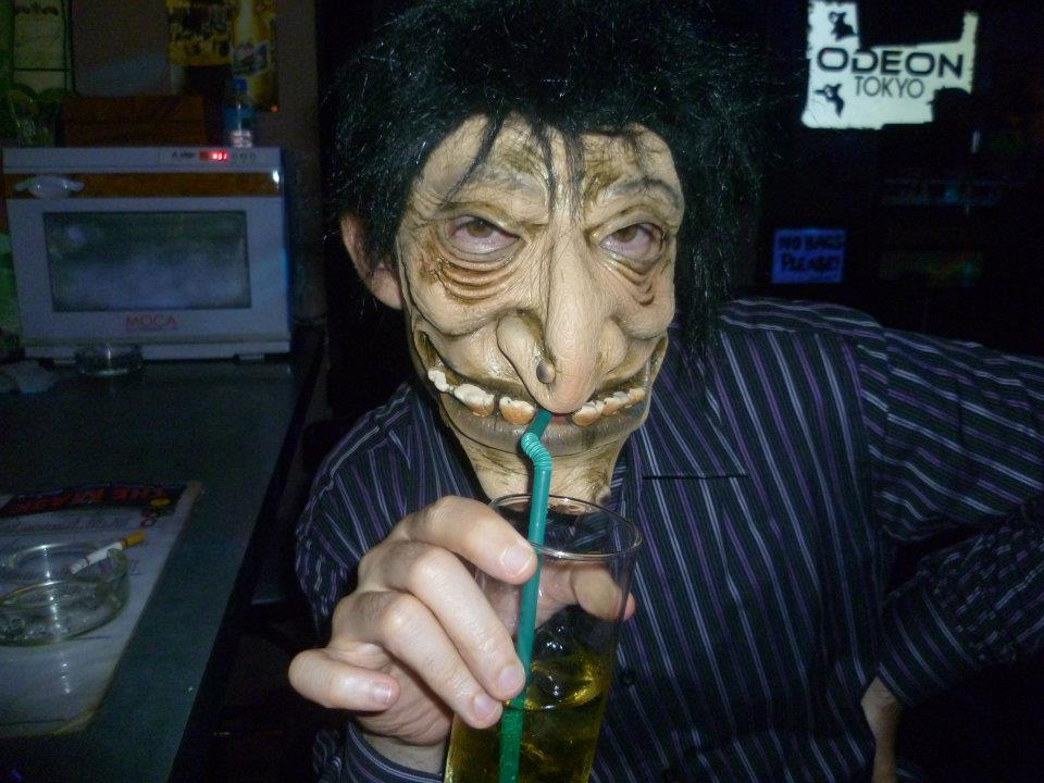 2011 Tokyo Roppongi Street On Halloween And Odeon Tokyo