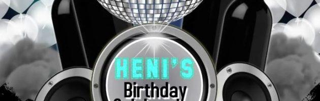 Heni's Birthday Bash Odeon Roppongi Tokyo